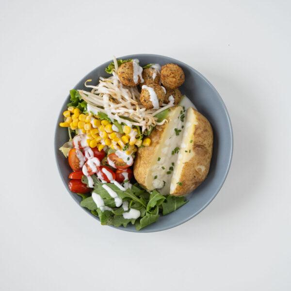 Kartoffel – Falafel