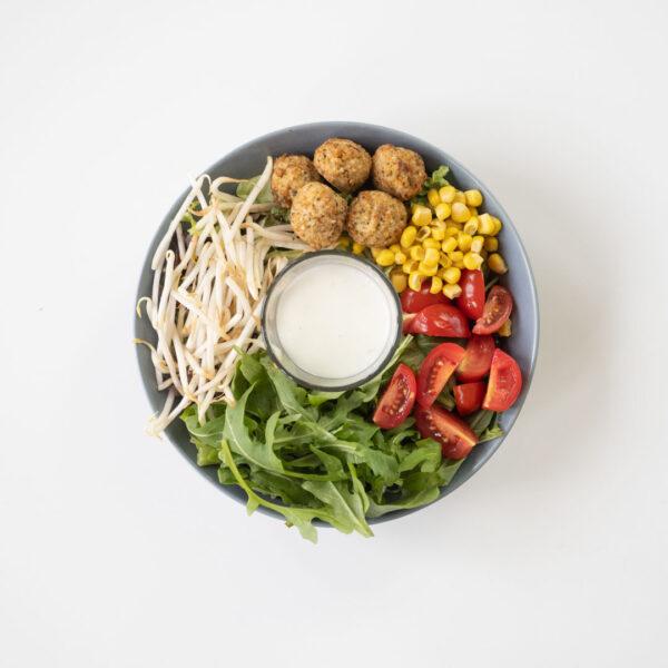 Salat – Falafel
