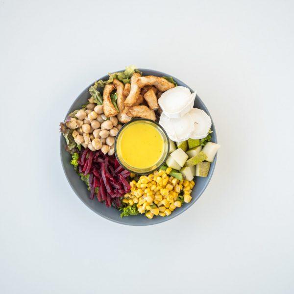 Salat - Bananenflanker by Tobi Schweinsteiger